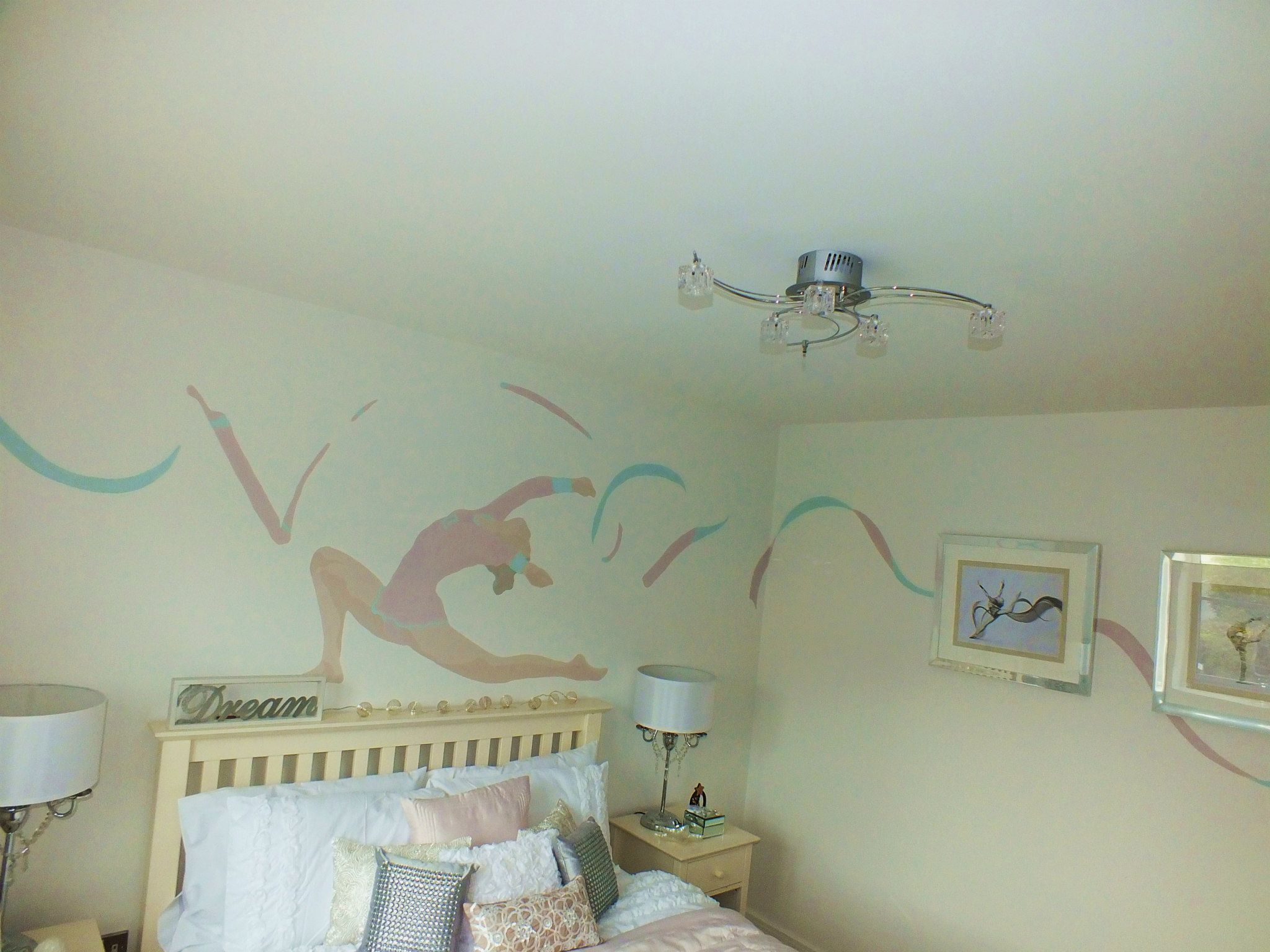 Hand Painted Murals - Dragonfly Decor