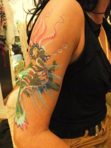 Body Painting - Dragonfly Decor